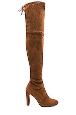 Stuart Weitzman Highland Boot in Walnut