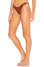 Suboo Gaby Ring Side High Cut Bottoms in Copper