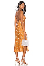 Sun Becomes Her Wildflower Midi Dress in Copper Vintage Floral