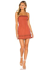 Sun Becomes Her Tulum Tango Dress in Sienna