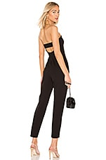 Susana Monaco Strap Back Tube Jumpsuit in Black