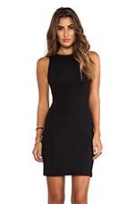 Kristy Notch Back Dress in Black