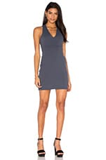 Susana Monaco Gia Dress in Charcoal