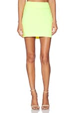 Slim Skirt in Neon