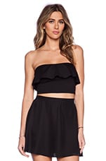 TOP CROPPED RUFFLE TUBE