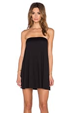Strapless Tunic in Black