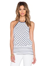 TOP DOS-NU STRIPED
