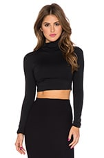 TOP CROPPED COL MONTANT
