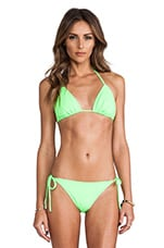 Tie String Bikini Top in Luminous