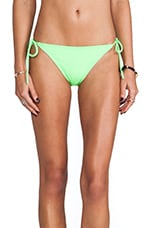 Tie String Bikini Bottom in Luminous