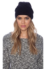 Cleo Beanie in Black