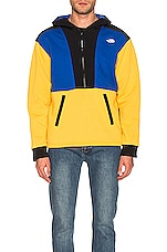 The North Face NSE Graphic Pullover Hoodie in TNF Yellow & TNF Blue & TNF Black