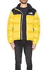 The North Face 1996 Retro Nuptse Jacket in TNF Yellow
