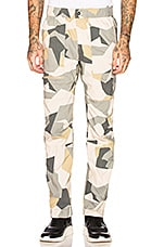 The North Face Westbrae Cargo Pant in Twill Beige Splinter Camo
