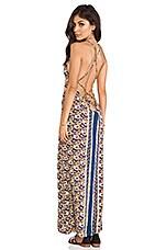Verve Maxi Dress in Tiki Paisley