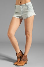 Akutu Denim Short en Stonewash