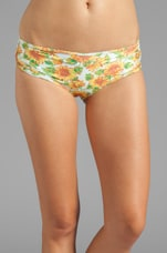 Sunflowers Shortie Short in Yellow