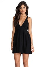 I Live To Kiss Dress in Black