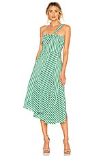 Tanya Taylor Pietra Dress in Kelly Green