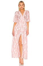 Tanya Taylor Ariela Dress in Blush