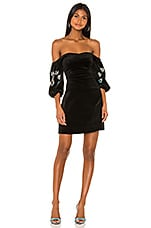 Tanya Taylor Kasey Dress in Black