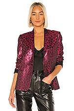 Tanya Taylor Analiese Blazer in Hot Pink