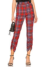 Tanya Taylor Carrington Pant in Red Multi