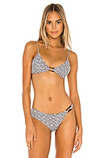 TAVIK Swimwear Tiffany Top in Black Spot