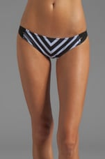 Courtney Moderate Coverage Bottom in Stripe