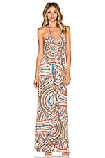 ROBE MAXI DOS-NU ENCOLURE V