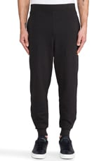 Vintage Fleece Sweatpant in Black