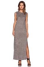 Heather Maxi Dress in Charcoal