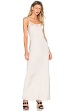Satin Slip Dress in Stone