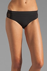Mesh Boy Swim Bottoms in Black