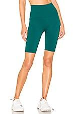 Touche LA Biker Short in Emerald Green