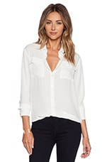 Drake Oversize BF Top in Ivory