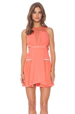 Je T'aime Dress in Nectarine