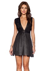Mayhem Dress in Metallic & Black
