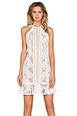 ROBE COURTE WHITE NOISE