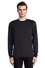 Dacher Colorblock Pullover in Black
