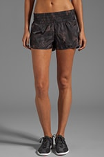 Cylinder Hye Shorts in Black Multi