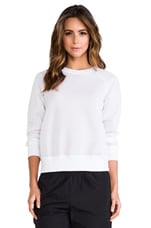 Aerocar Incline B Pullover in White