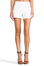 Checklist Lynie Short in White