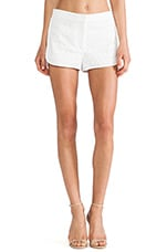 Ellice Nadrea Short in White