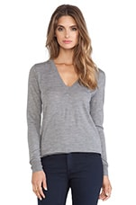 Marlien Sweater in Heather Grey