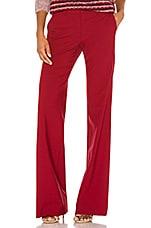 Theory Demitria Classic Suit in Crimson