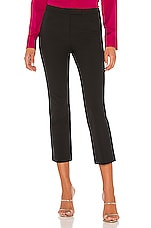 Theory Crop Pant in Black