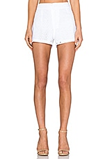 Westward Mai Short in White