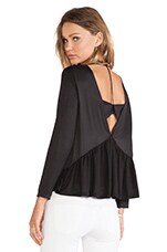 Sunray Top in Black