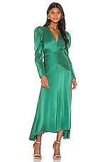 THURLEY Basilica Dress in Verdant Green